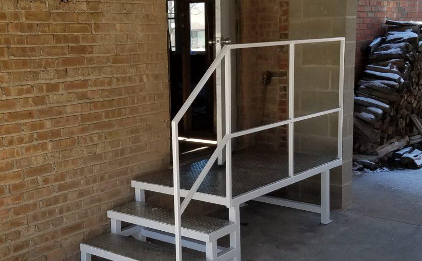 New Stairs!