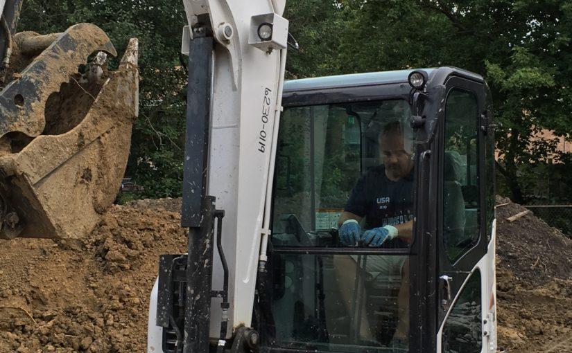 Excavation Has Begun