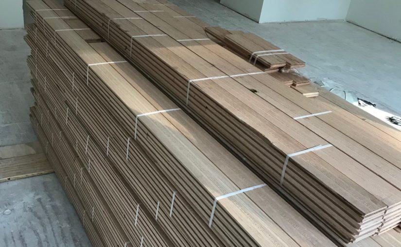 Wood Acclimation