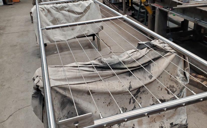 Garage Deck Railing